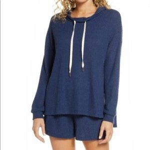 Project Social T Waffle Knit Hooded Pullover